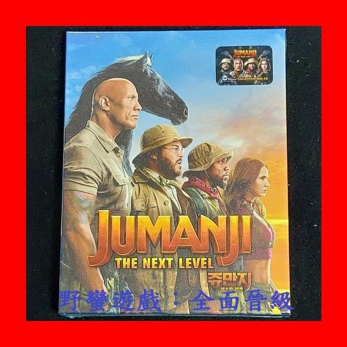【4K UHD】野蠻遊戲:全面晉級 4K UHD+BD 雙碟全紙盒限量鐵盒版(台灣繁中字幕)Jumanji