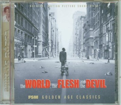 """The World, the Flesh and the Devil""- Miklos Rozsa(50),全新美版"