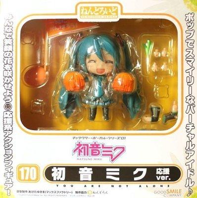 日本正版 GSC 黏土人 初音未來 MIKU 應援 Cheerful JAPAN限定 可動 模型 公仔 日本代購