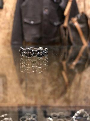 造夢師 手工訂製【Chrome Hearts】【復刻】CH 克羅心 十字雕花戒飾 925純銀 戒指