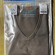 (現貨不用等)妮芙露 負離子 UW 163 男士 薄短袖上衣 尺寸:L  咖啡色   滿萬有折扣