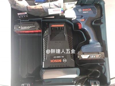 胖達人五金  BOSCH 德國 BOSCH 博世  18V GDS 250-LI  鋰衝擊電扳手機  2.0Ah *2