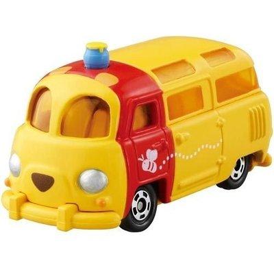 【小糖雜貨舖】日本 TOMICA TOMY 多美 Disney 迪士尼 小汽車 TSUM TSUM 夢幻 維尼 麵包車