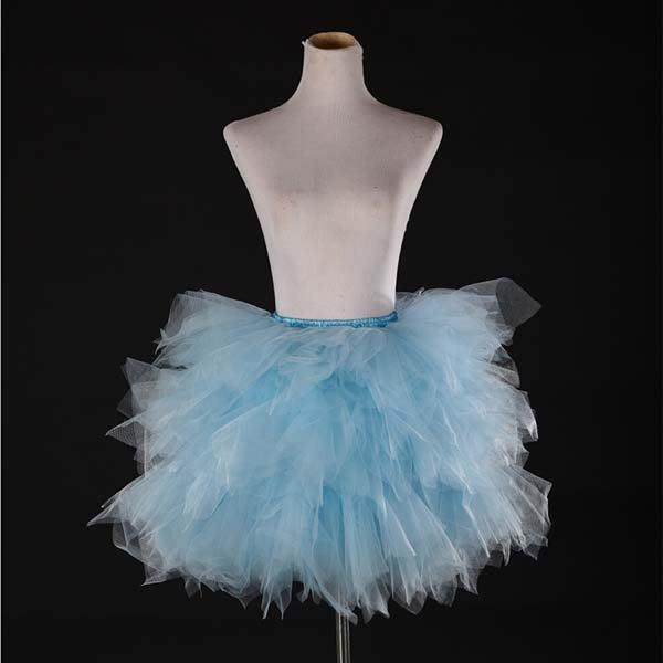 5Cgo【鴿樓】會員有優惠 523242726286 糖果色系蓬蓬裙多層網紗裙半身裙演出半身蓬蓬裙舞台舞蹈芭蕾舞裙