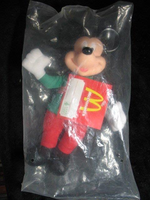 McDonalds 麥當勞 - 1996年 聖誕迪士尼 米奇 - 26公分高 絕版全新品 - 1001元起標