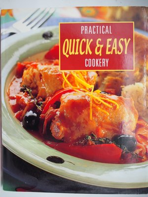 【月界二手書店】Practical Cookery:Quick & Easy_精裝本大本 〖餐飲〗AEP
