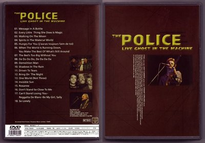 音樂居士#警察樂隊 The Police - Live Ghost In The Machines () DVD