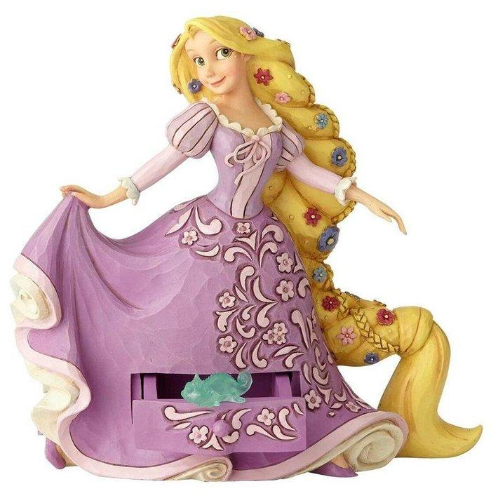 🗽Dona美國代購🗽預購 Enesco 迪士尼長髮公主樂佩 小飾品抽屜 小收納盒 塑像 公仔擺飾裝飾
