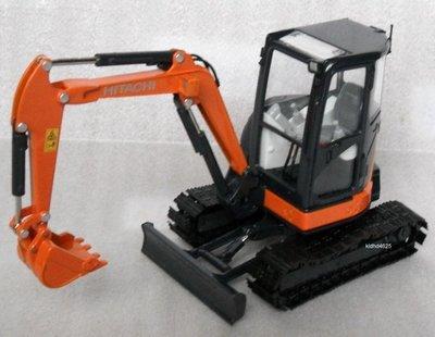 [丸山建機模型店]---HITACHI ZX-35U-5 1/30 怪手挖土機模型---金屬履帶