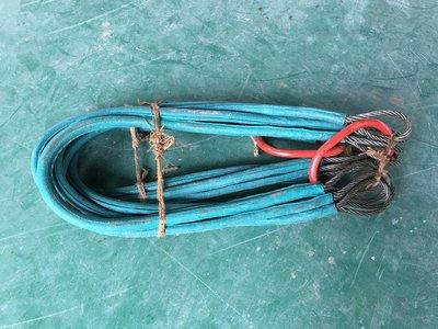 橙子的店 索具 四腿鋼絲繩吊具 壓膠鋼絲繩吊具 各種規格 鋼絲繩索具