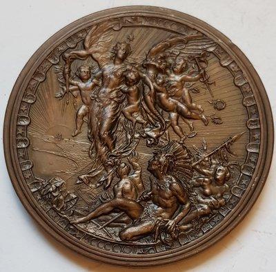 意大利銅章1893 World's Columbian Exposition Milan Bronze Medal