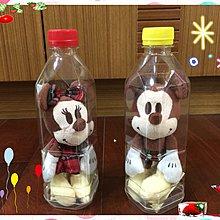 日本限量午後紅茶 迪士尼米奇、米妮瓶中玩偶吊飾(一組二個)