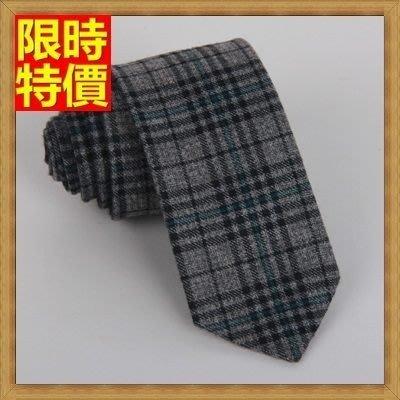 領帶 手打領帶 (任兩條)-棉麻羊絨窄版時尚男士配件11色69d14[獨家進口][米蘭精品]