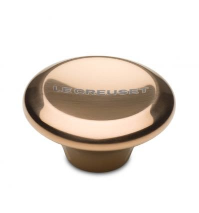 Le Creuset 金銅色 大型 5.7cm 不鏽鋼鍋蓋鈕 鑄鐵鍋蓋鈕 金屬鍋蓋鈕 鍋蓋提手 鍋蓋頭