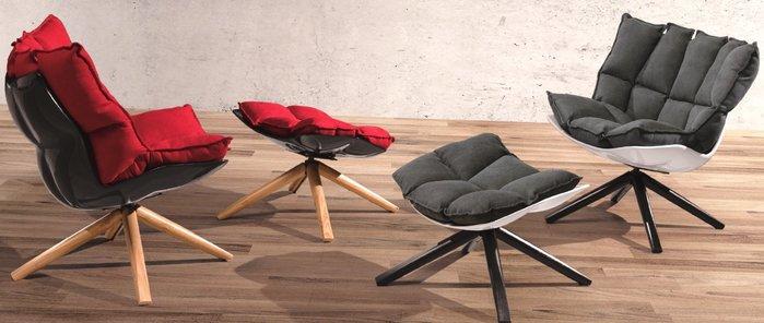 [ 椅子王 ] ----- 北歐風 雲朵單人沙發椅 (不含椅凳$4800元)