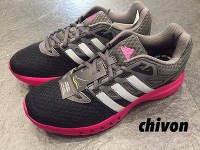 *CHIVON* ADIDAS GALAXY 2 W 慢跑鞋 黑 灰 桃紅 AF5570 柔軟 透氣 網布 全新保證正品 新北市