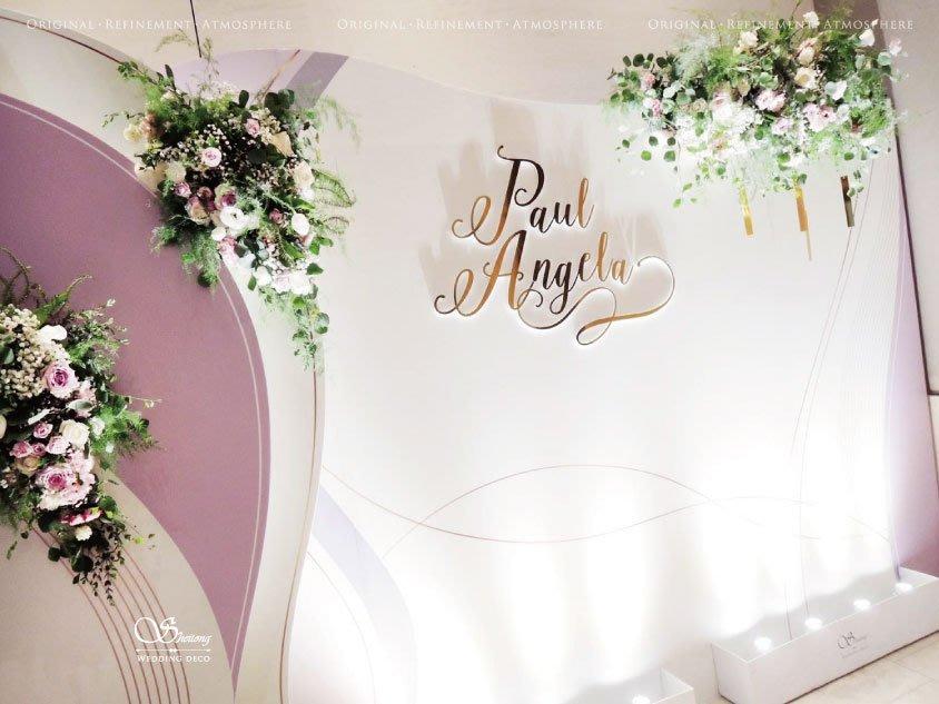 Sheitong Wedding Deco---♥婚禮花藝設計♥婚禮佈置 花藝設計 寵物立牌 candy bar