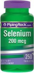 【活力小站】Piping Rock 現貨 Selenium 硒 200mcg 250顆