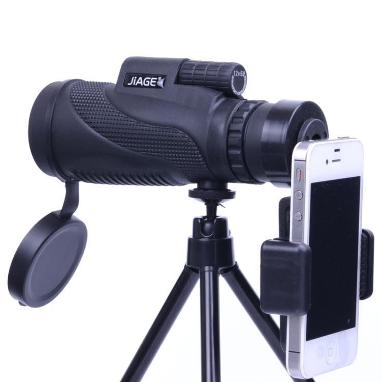 【全館9折】JIAGE大口徑單筒望遠鏡微光夜視高倍高清非紅外軍1000演唱會成人