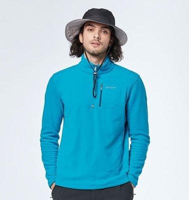 荒野 wildland 刷毛衣 戶外休閒服飾 0A82502 男彈性PILE保暖上衣訂價2160元特價1080元
