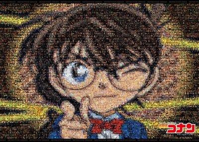 日本進口拼圖專賣店_3000片 卡通動畫 馬賽克拼圖 名偵探柯南 21-109