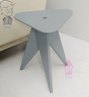 【X+Y時尚精品傢俱】現代客廳系列-亞瑟 三角小茶几(灰).小巧可愛造型.摩登家具