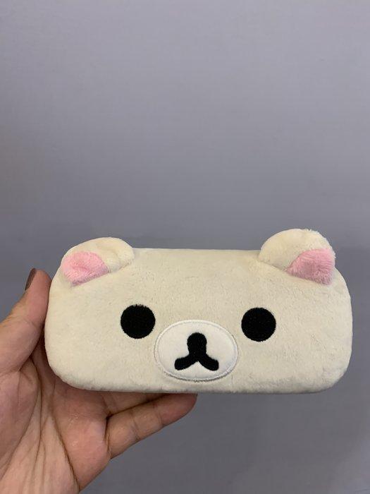 ^燕子部屋 ^ San-X正版 【 拉拉熊/ 懶熊 】造型毛絨眼鏡盒(清倉 原價470 現特299)