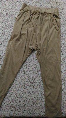 30一元起標~專櫃0918寛褲飛鼠褲休閒褲