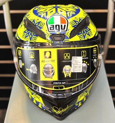 【小隱部品】全新現貨!頂級AGV Pista 碳纖維 雪花帽 (Arai shoei tmax 530)