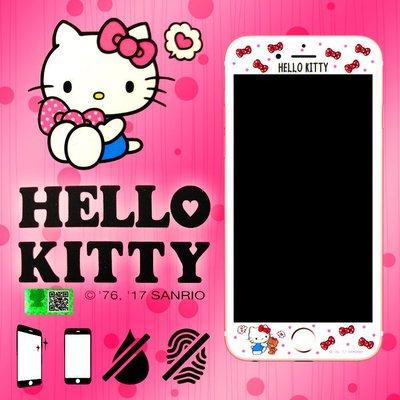 9H滿版 Hello Kitty 三麗鷗正版授權 4.7吋 iPhone 6/6S/7/iP6/I6S/IP7 凱蒂