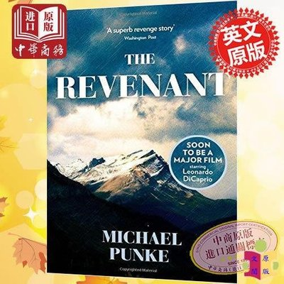 [文閲原版]還魂者 英文原版The Revenant 荒野獵人 萊昂納多 電影小說奧斯卡