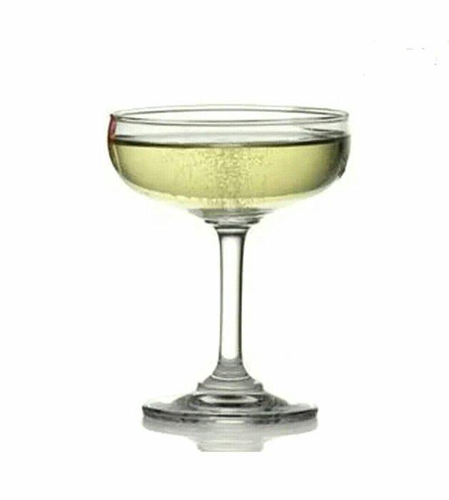 6入裝寬口香檳杯雞尾酒杯