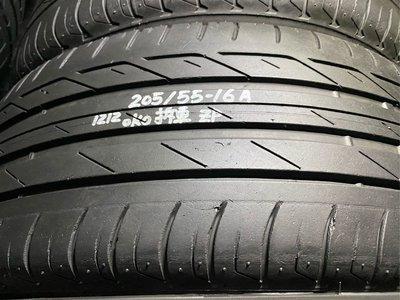 普利司通 T001 RSC 205/55/16 兩條2千5 失壓續跑胎 中古胎
