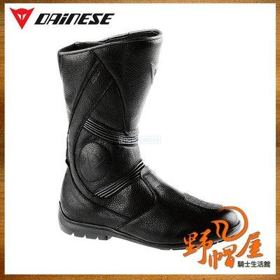 三重《野帽屋》!來店再優惠!DAINESE FULCRUM C2 GORE-TEX 長筒車靴 休閒 生活防水 透氣。黑