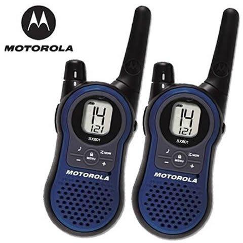 【101-3C數位館】 摩托羅拉 MOTOROLA 免執照無線電對講機 SX601 2支裝 座充版 福利品小刮傷