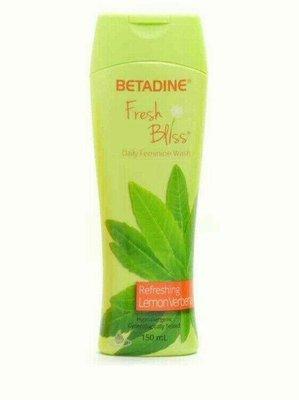 菲律賓 Betadine Refreshing Lemon Feminine Wash 女性私密處沐浴露/1瓶/150ml