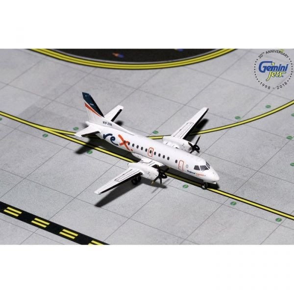 Gemini Jets 1/400 區域快線航空 澳洲地區 REX SAAB SF340 合金模型 GJRXA1591