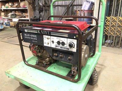 【TAIWAN POWER】清水牌 中古日製SGW-190X汽油電焊發電機 中古發電機 中古電焊發電機 序號:20119