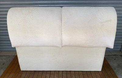 台中二手家具館 西屯樂居二手傢俱買賣 B0221AJJC 白色3.5尺床頭片*斗櫃 碗盤櫥櫃 收納架 鐵力士架 2手家具