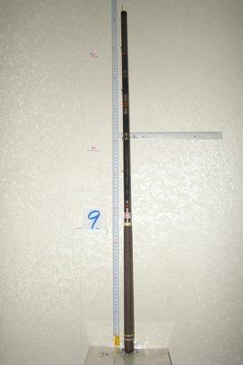 采潔日本二手外匯釣具 日本天宮ACTIO鯉 5406 18尺《筏竿.路亞竿.船竿 前打竿》二手釣具 二手釣竿 中古 B9