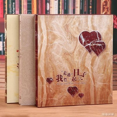 大容量盒裝相簿家庭寶寶紀念冊相冊本-Nuan190【暖暖居家】