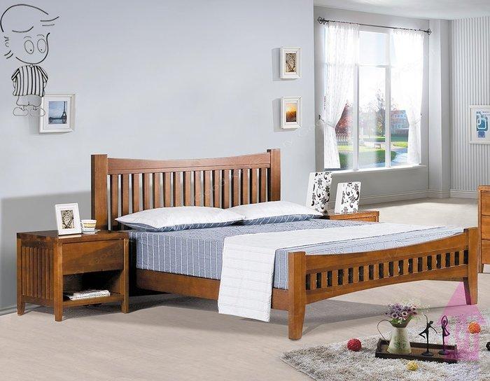 【X+Y時尚精品家具】現代雙人床組床架系列-依娜 5尺柚木色雙人床台(不含床墊及床頭櫃).另有6尺或3.5尺.摩登家具