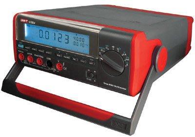 TECPEL 泰菱 》UNI-T 優利德 UT-804 39999 位數 桌上三用電錶 + 儲存 9999筆 桌上型電表