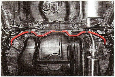 大台北汽車精品 CIDEP 底盤強化件 NEW ELANTRA 專用加裝型後下防傾桿 台北威德