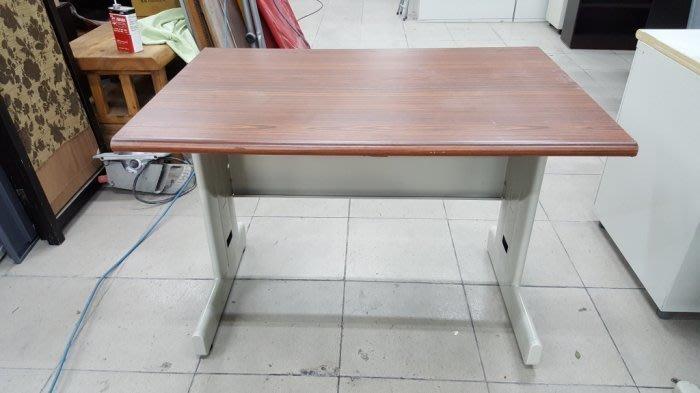 二手家具樂居 台中全新中古傢俱 E1113AJA*胡桃木辦公桌 電腦桌 書桌*2手桌椅 餐桌 會議桌 業務桌 工作桌