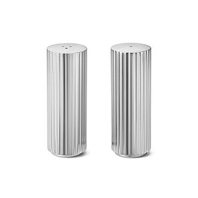 Luxury Life【預購公司貨】丹麥 Georg Jensen 喬治傑生 瑞典王子系列 不鏽鋼 椒鹽罐 兩件組