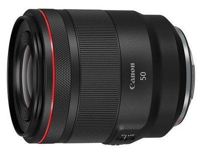 【數位小館】Canon 佳能RF 50mm f1.2 L USM EOS R系列專用 平行輸入/店保一年