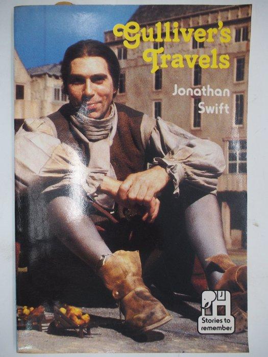 【月界二手書】Gulliver's Travels 大小人國遊記(絕版)_Jonathan Swift〖語言學習〗CJK