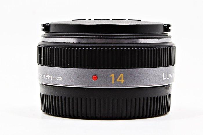 【台南橙市3C】Panasonic LUMIX 14MM F2.5 G ASPH M4/3 定焦鏡  #40593