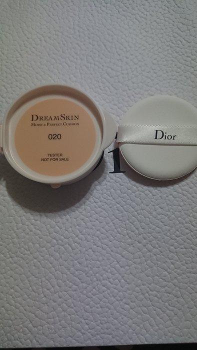 2018新品Dior迪奧 CD超級夢幻美肌氣墊粉餅 粉蕊15g 專櫃tester